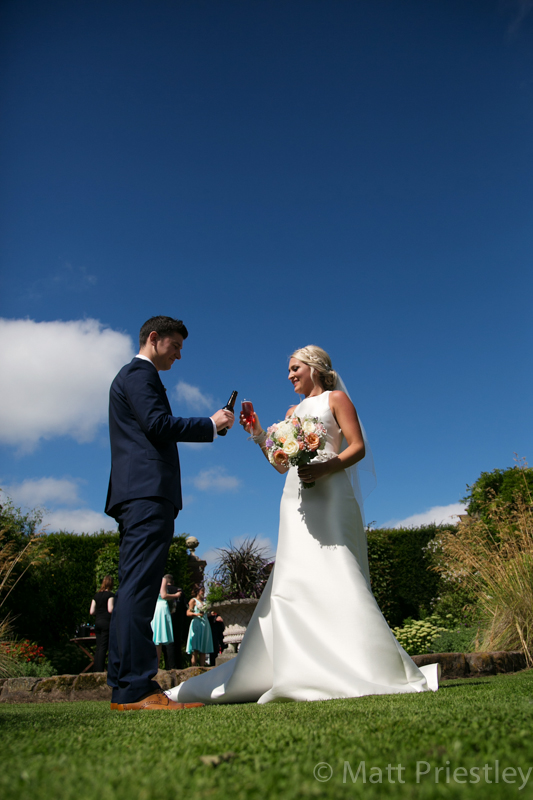 Abbeywood Cheshire wedding venue wedding photography for Sophie and Dave by Altrincham photographer Matt Priestley073