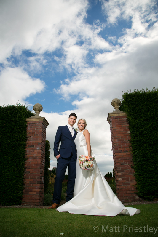 Abbeywood Cheshire wedding venue wedding photography for Sophie and Dave by Altrincham photographer Matt Priestley091