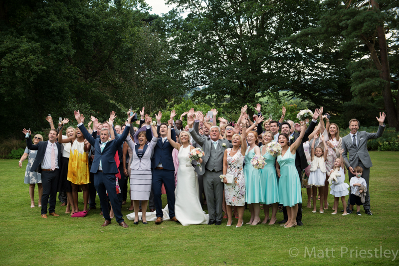 Abbeywood Cheshire wedding venue wedding photography for Sophie and Dave by Altrincham photographer Matt Priestley094