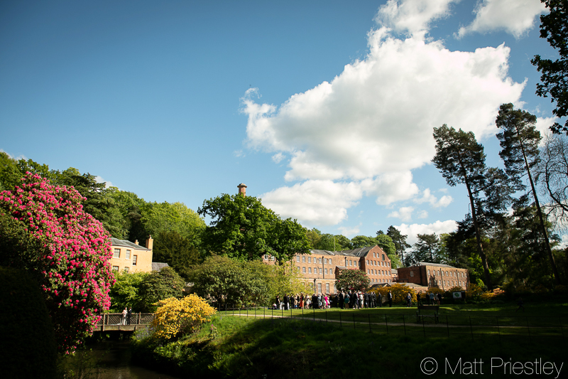 Cat and Sam's Church wedding in Wilmslow and wedding reception at Quarry Bank Mill, Styal, Cheshire